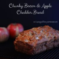 Chunky Bacon and Apple Cheddar Bread