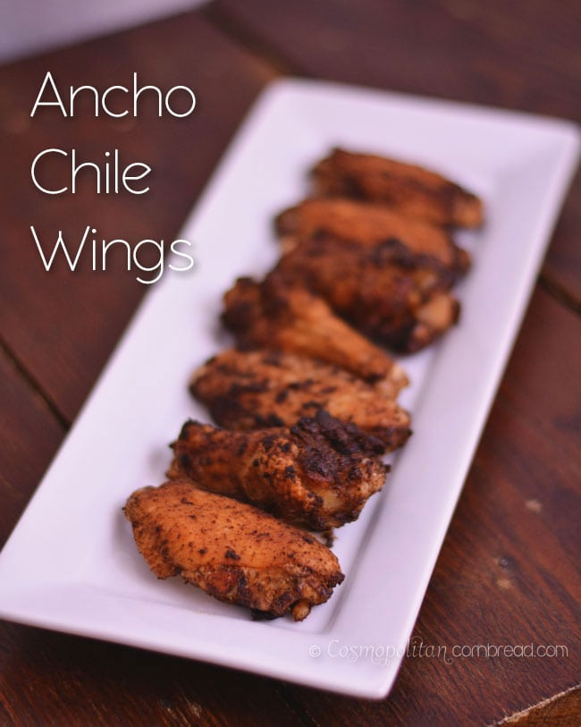 Ancho Chile Wings from Cosmopolitan Cornbread