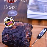 Coffee Rubbed Prime Rib Roast