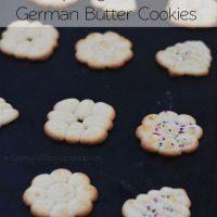 Spritzgebäck: German Butter Cookies (Spritz Cookies)