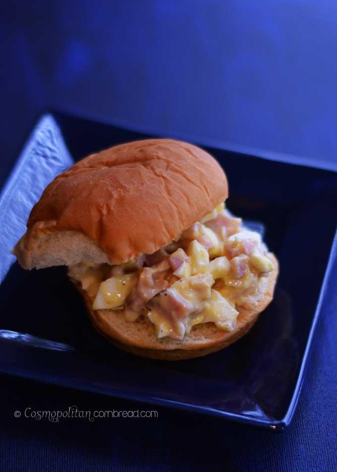 How to make Amish Ham Salad from Cosmopolitan Cornbread