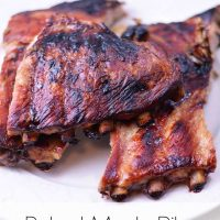 Baked Maple Ribs