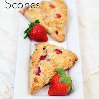 Sweetheart Strawberry Scones