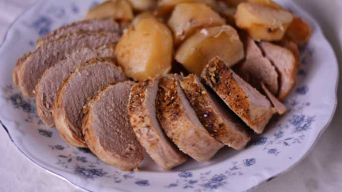 Slow Cooker Pork Tenderloin from Cosmopolitan Cornbread