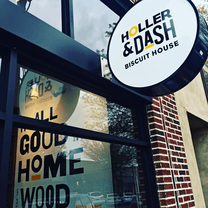 Holler & Dash - the first of its kind in Birmingham, Alabama| Read about it on Cosmopolitan Cornbread