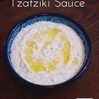 Homemade Tzatziki Sauce