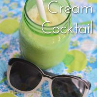 Caribbean Cream Cocktail