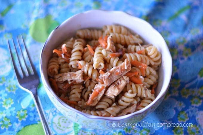 Italian Chicken Pasta Salad from Cosmopolitan Cornbread