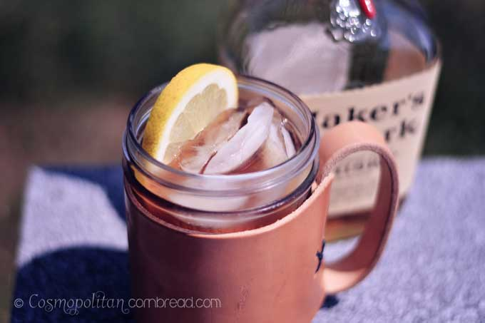 Bourbon Sweet Tea Cocktail | A sweet cocktail with Southern flair from Cosmopolitan Cornbread