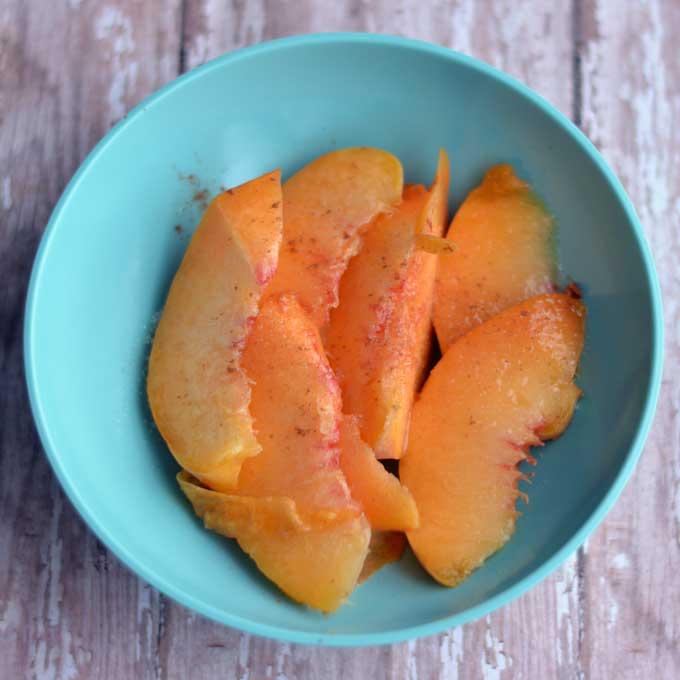 Good Old-fashioned Peaches & Cream from Cosmopolitan Cornbread