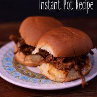Zippy Peach Pork - Instant Pot Recipe