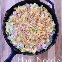 Ham Noodle Casserole