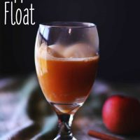 Apple Pie Float