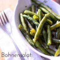 Bohnensalat - German Green Bean Salad