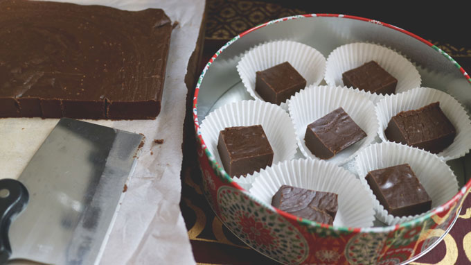 Espresso Fudge is the perfect gift from your kitchen for the coffee lovers. Get the recipe from Cosmopolitan Cornbread