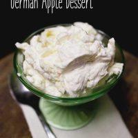 Rauhreif - German Apple Dessert