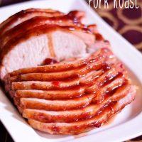 Cranberry Orange Pork Roast