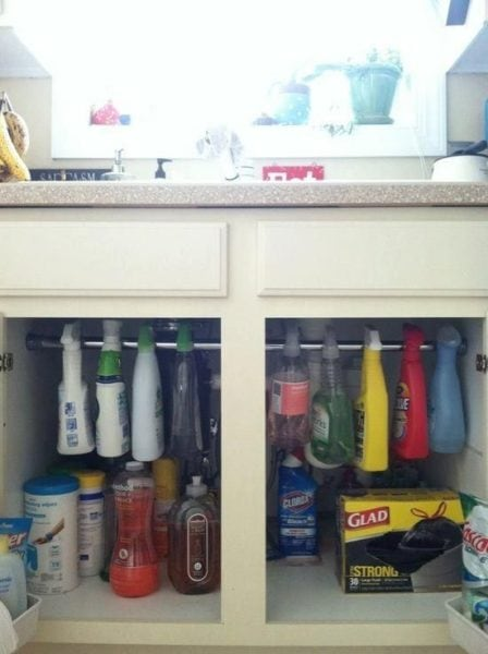 Decluttering Week 2: Under the Kitchen Sink | Cosmopolitan Cornbread