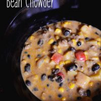 Tex-Mex Black Bean Chowder