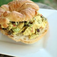Picnic Curry Chicken Salad