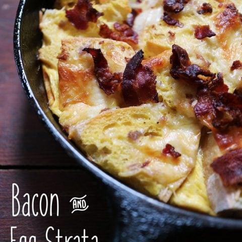 Bacon & Egg Strata