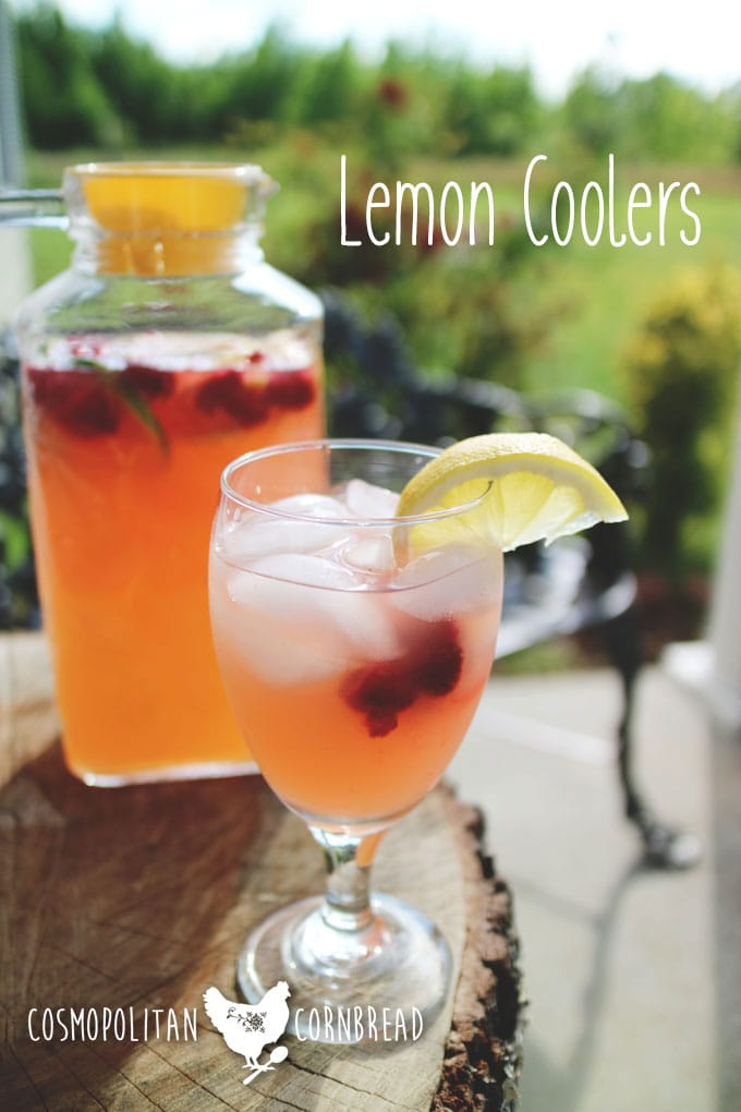Lemon Coolers | Brunch Recipes for Mothers Day - Lemon Coolers are perfect for brunch, or any summer day. Get this simple recipe from Cosmopolitan Cornbread