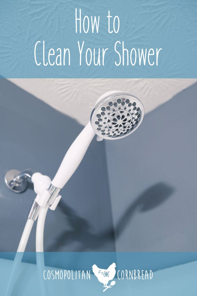 How to Clean Your Shower | Tips & Tricks from Cosmopolitan Cornbread's Homemaker Helps