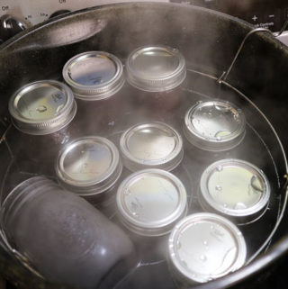 How to Sterilize Canning Jars & A Space Saving Tip