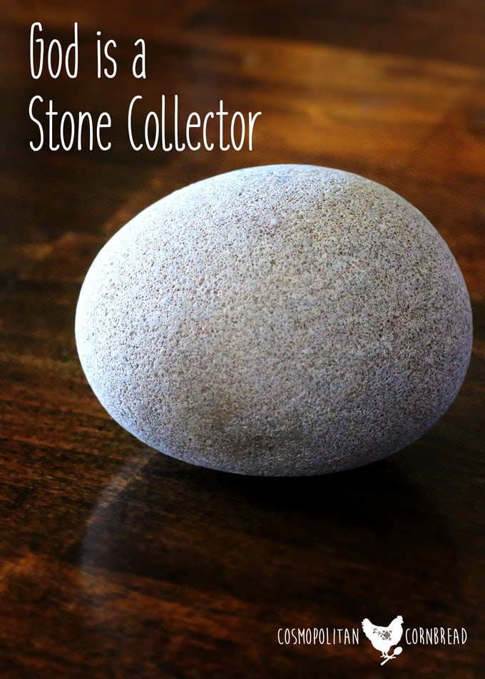God the Stone Collector | Cosmopolitan Cornbread