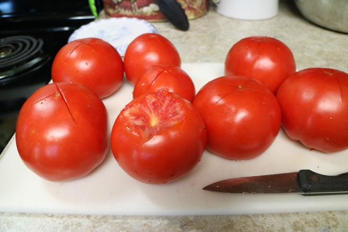 How to Skin a Tomato | Cosmopolitan Cornbread
