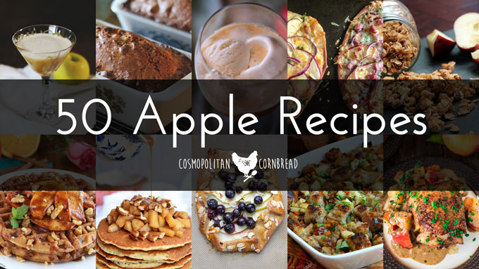Apple Goodness! 50 Apple Recipes to Drool Over this Autumn