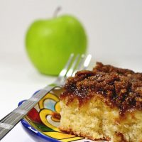 Scrumptious Apple Coffee Cake
