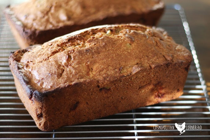 This Apple Pecan Bread from Cosmopolitan Cornbread is the perfect autumn treat. Get the recipe today.