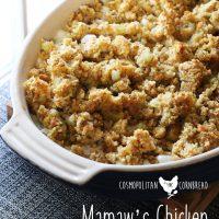 Mamaw's Chicken Casserole