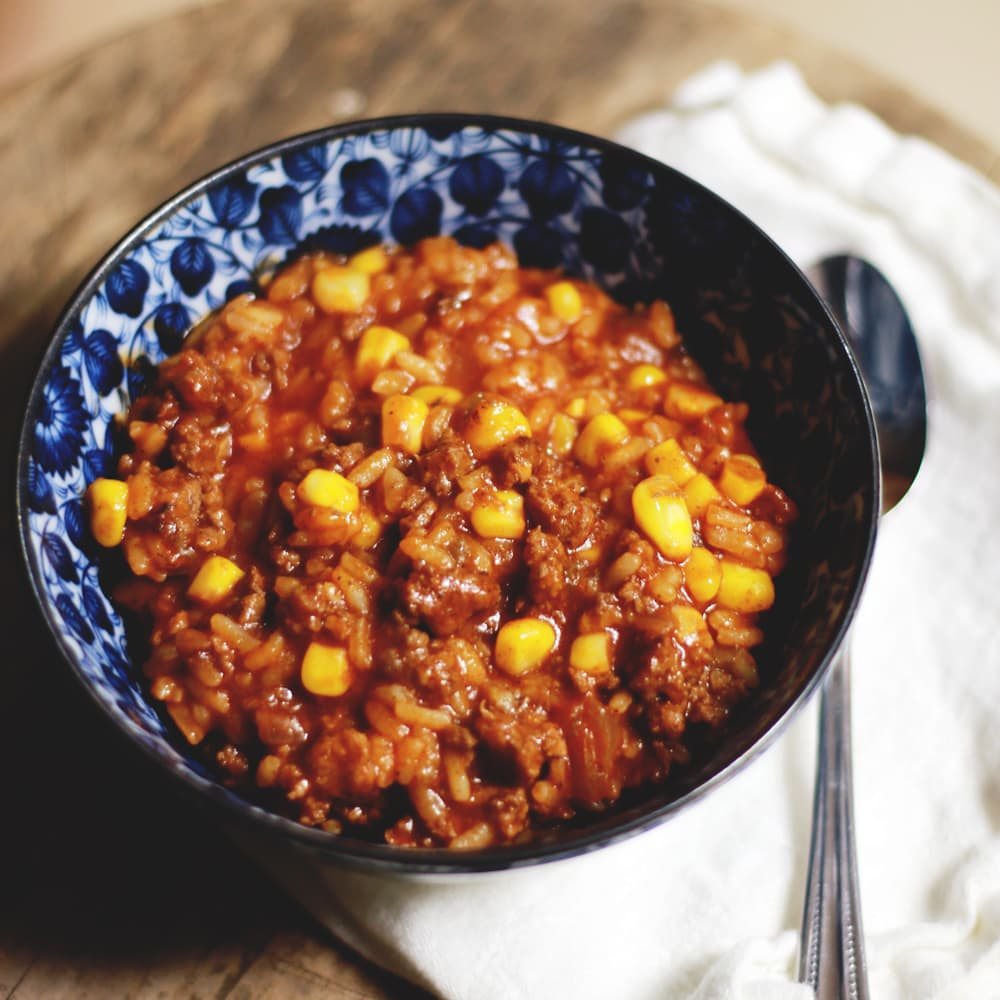 Spanish Rice Supper