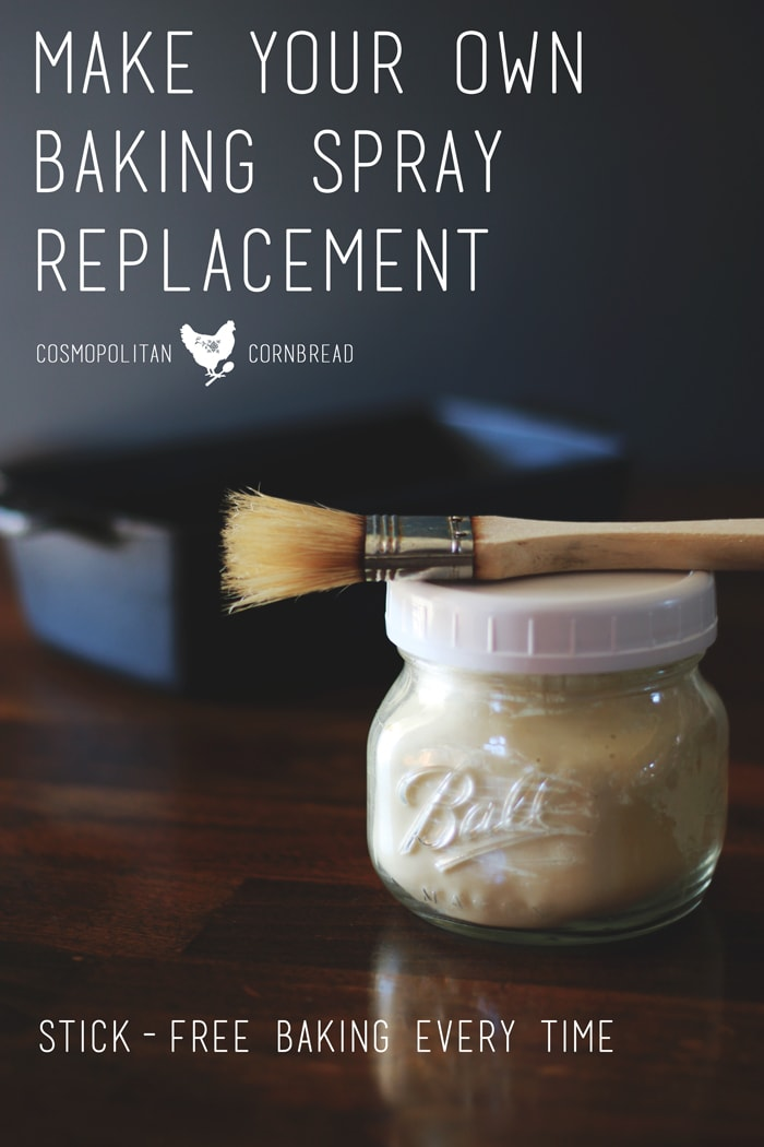 How to Make a Baking Spray Replacement - Make your own inexpensive replacement for baking spray at home, and enjoy stick-free baking every time. | Cosmopolitan Cornbread