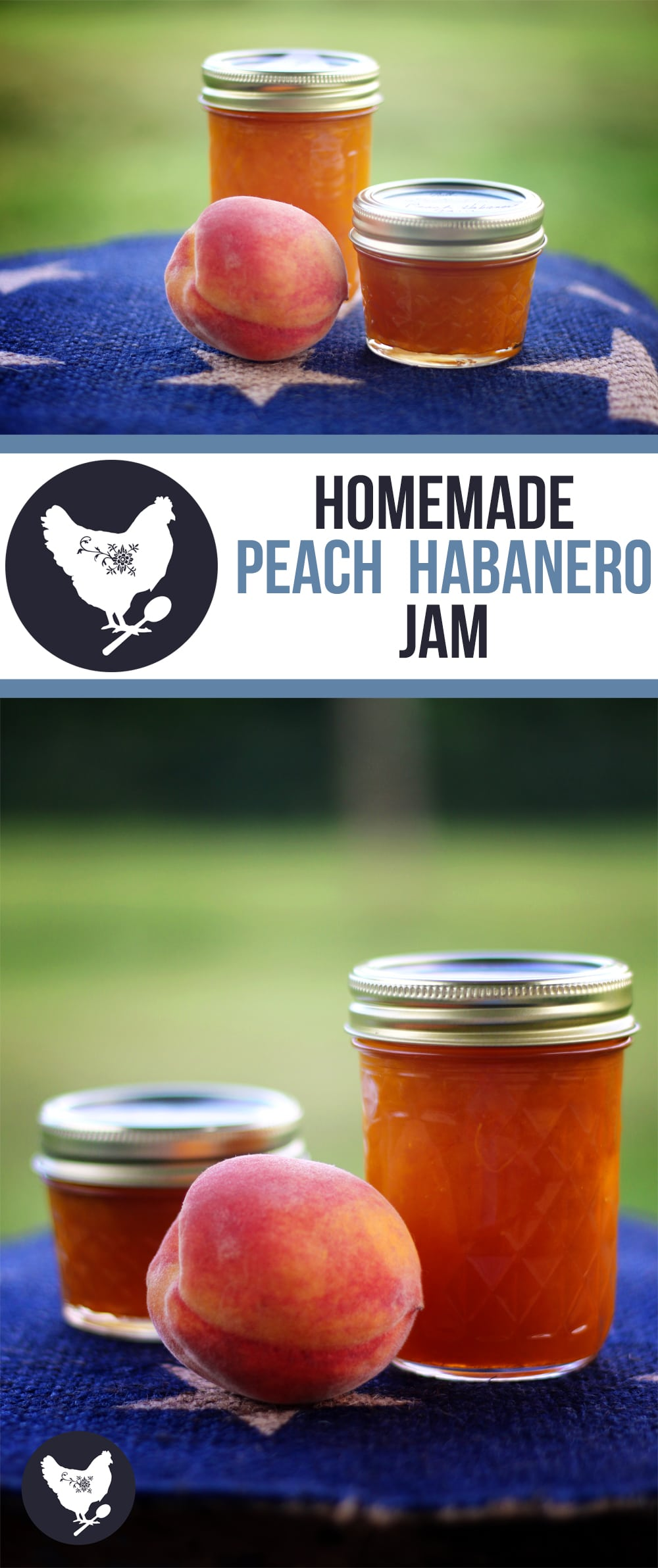 Flavorful Peach Jam with a punch of Habanero Pepper. Find out how to make this delicious preserve from Cosmopolitan Cornbread.