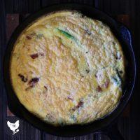 Bacon & Asparagus Egg Skillet