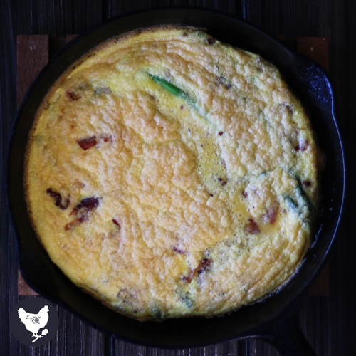 This is a delicious meal with eggs, crispy bacon and flavorful asparagus is all made right in one skillet. It is simple to make and clean-up is a breeze. Get the recipe from Cosmopolitan Cornbread.