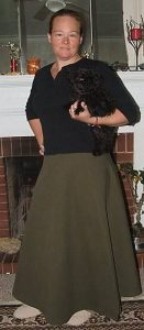 How to Make a Modest Wrap Skirt
