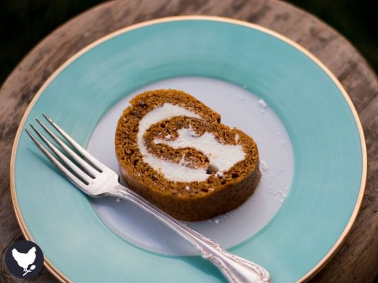 This Pumpkin Roll Cake with Cream Cheese Filling, is our family's favorite Fall dessert, and will soon be your family's too! Get the recipe from Cosmopolitan Cornbread.