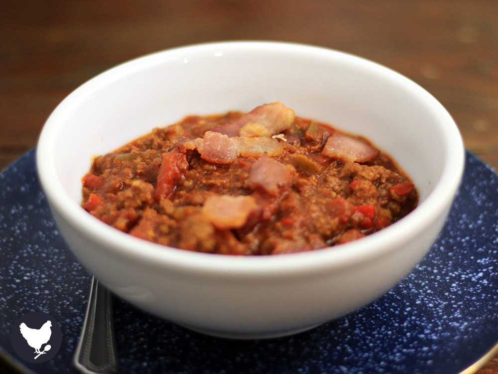Smokey Bacon Chili | Paleo