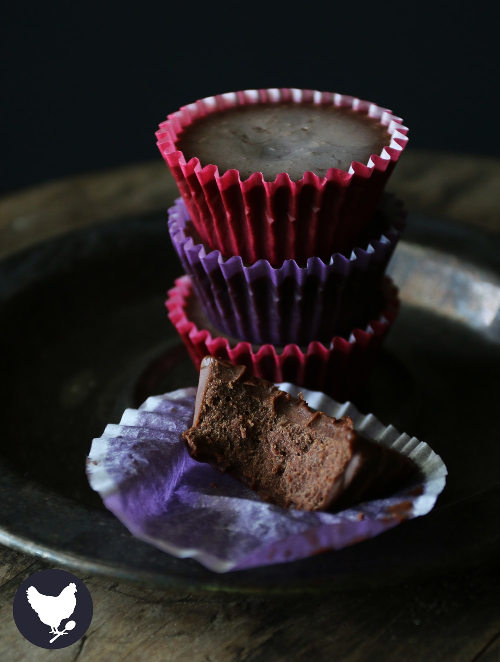 Sometimes you just need something a little sweet, and these little chocolaty cups are the perfect answer.