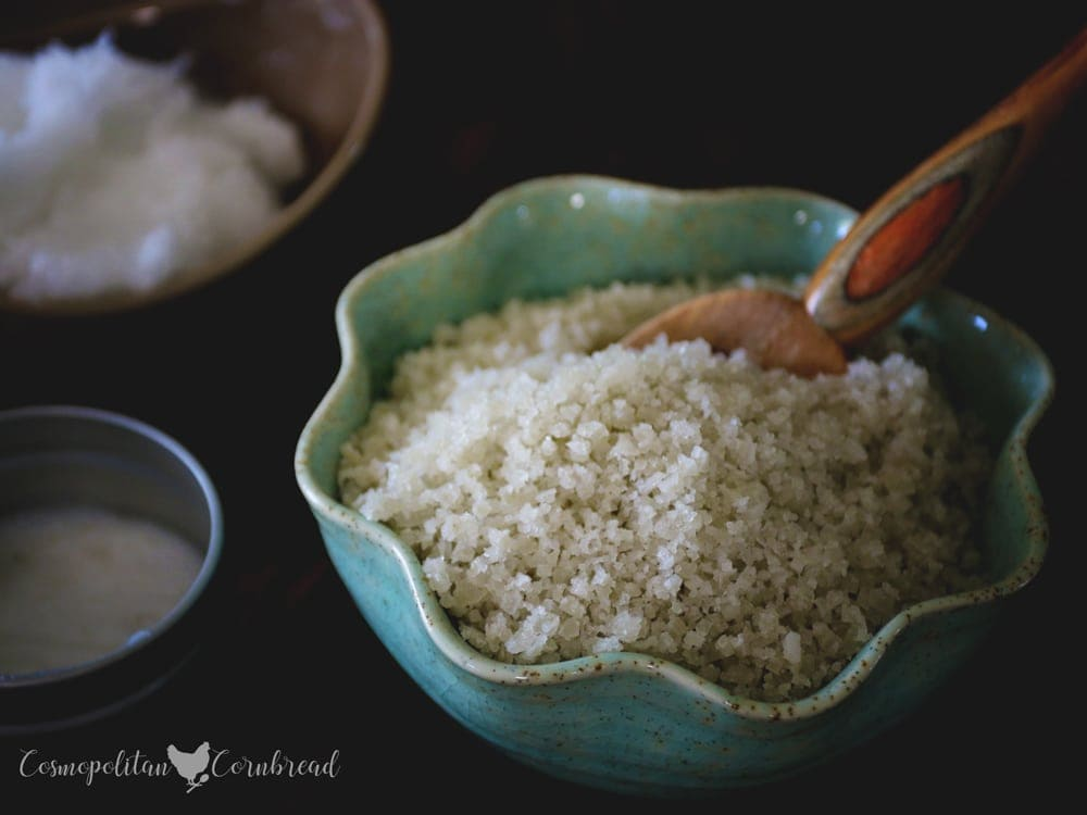 How to Make Homemade Sea Salt Scrub