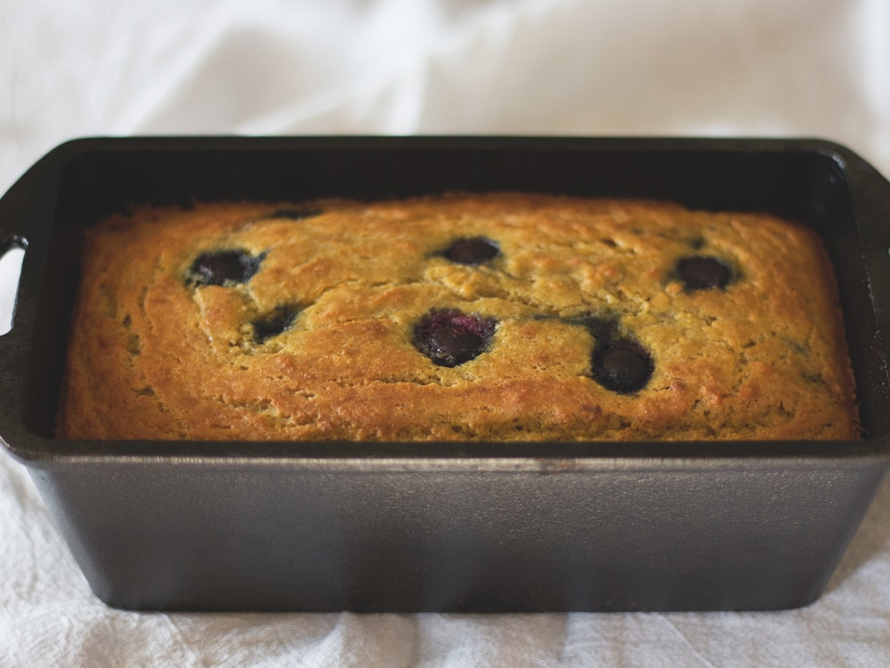 Paleo Blueberry Bread