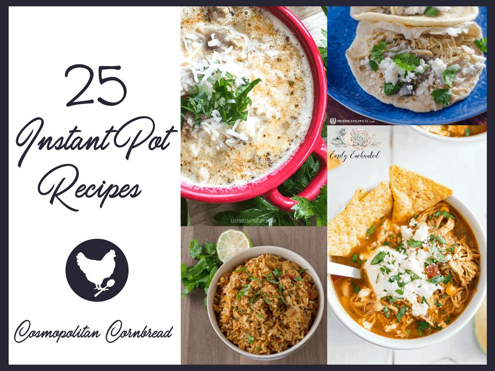 25 More Instant Pot Recipes