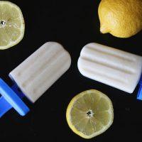 Paleo Lemon Cream Pops