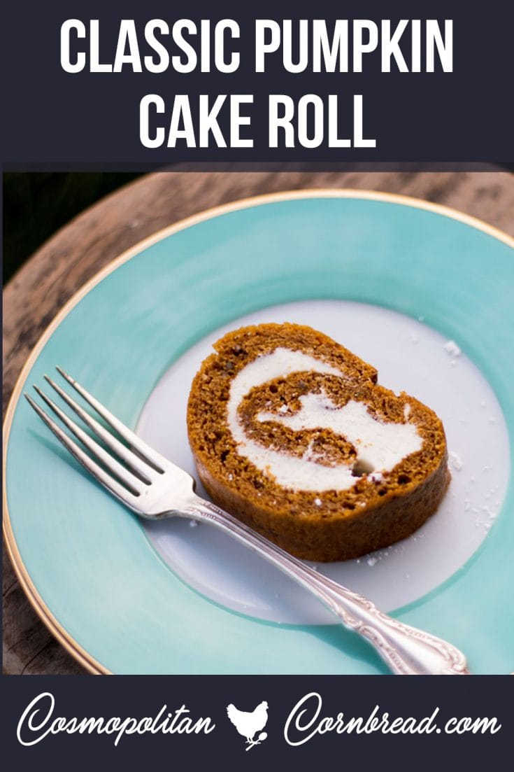 This Pumpkin Roll Cake with Cream Cheese Filling, is our family's favorite Fall dessert, and will soon be your family's too!
