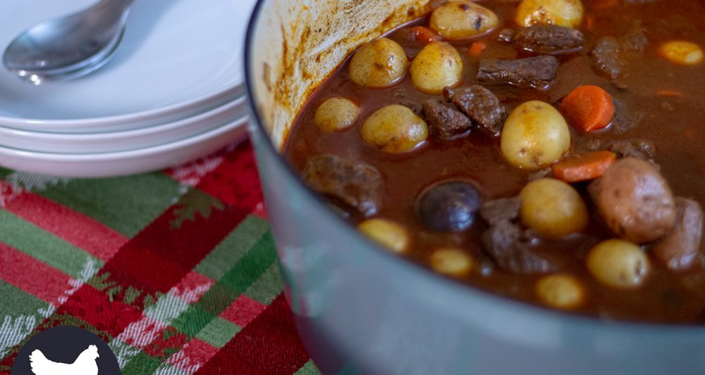 How to make German Goulash Soup. A rich and flavorful stew, traditionally served on New Year's Eve, but you can enjoy it all year long. Get the recipe from Cosmopolitan Cornbread.