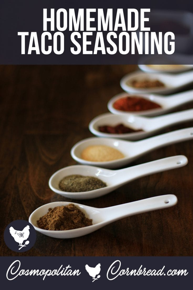 How to Make Homemade Taco Seasoning (with PALEO option)